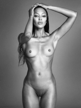 and nude Madonna naomi campbell