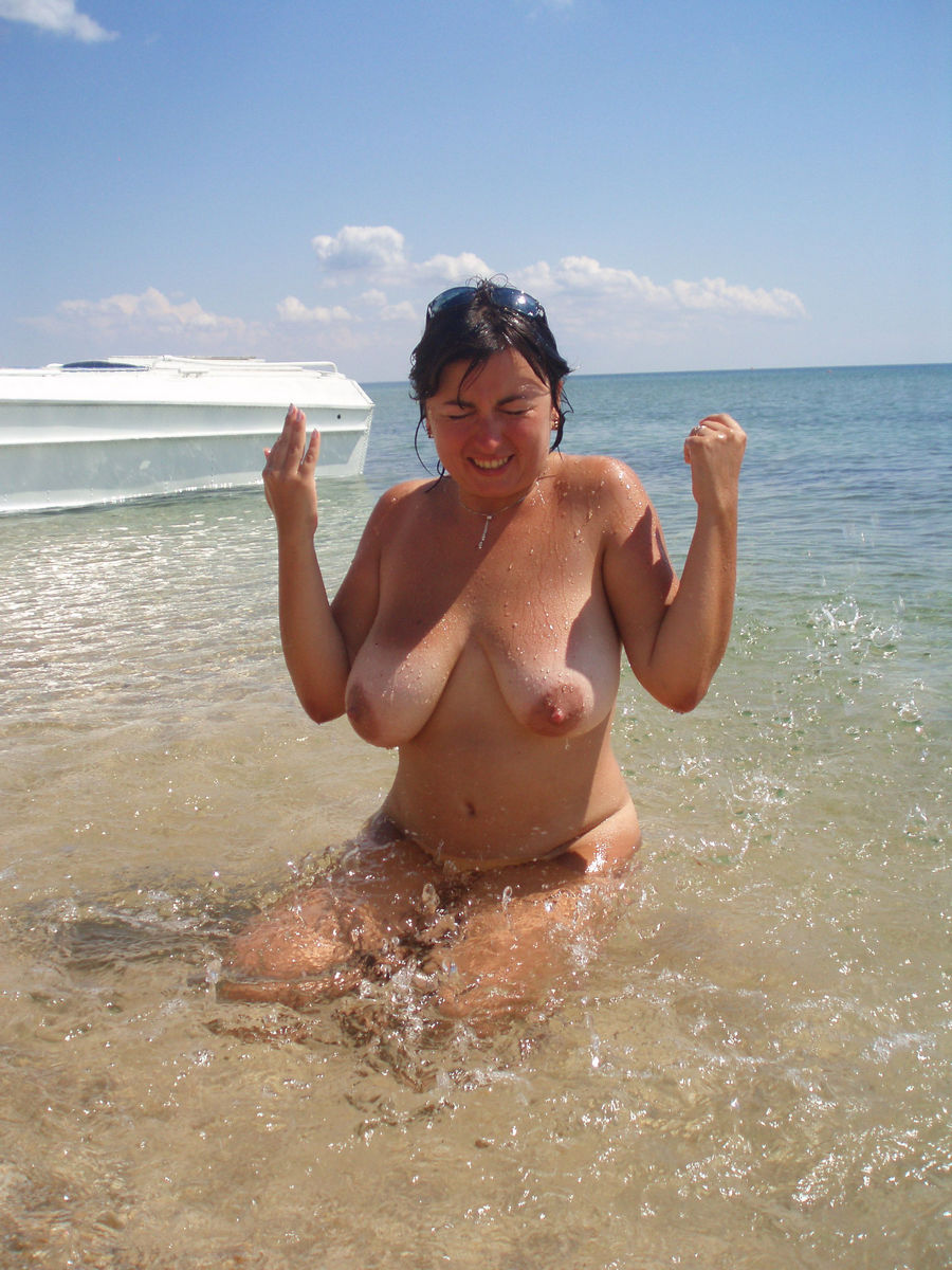nude on naked the beach Matures