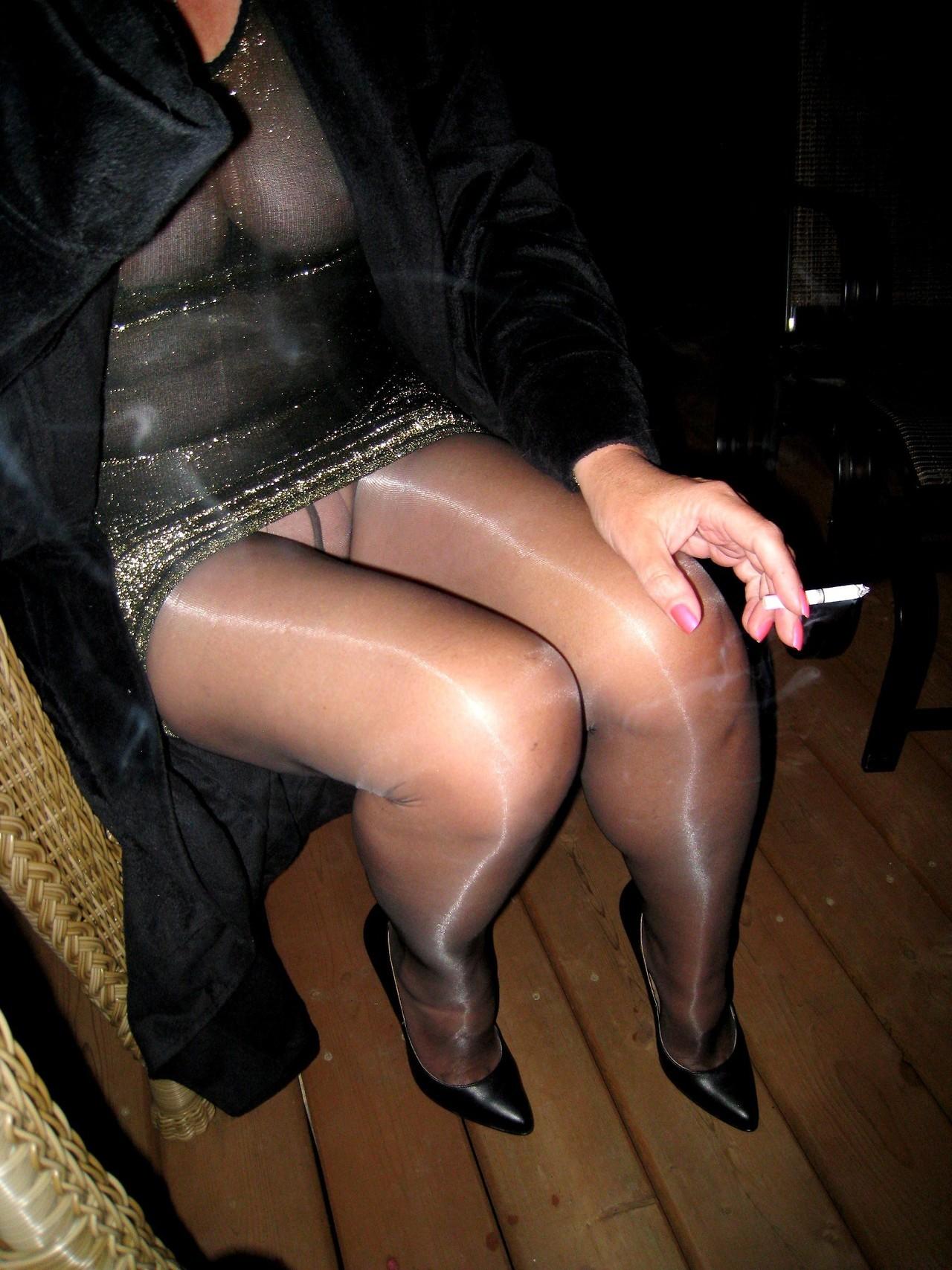 pantyhose sex shiny Glossy