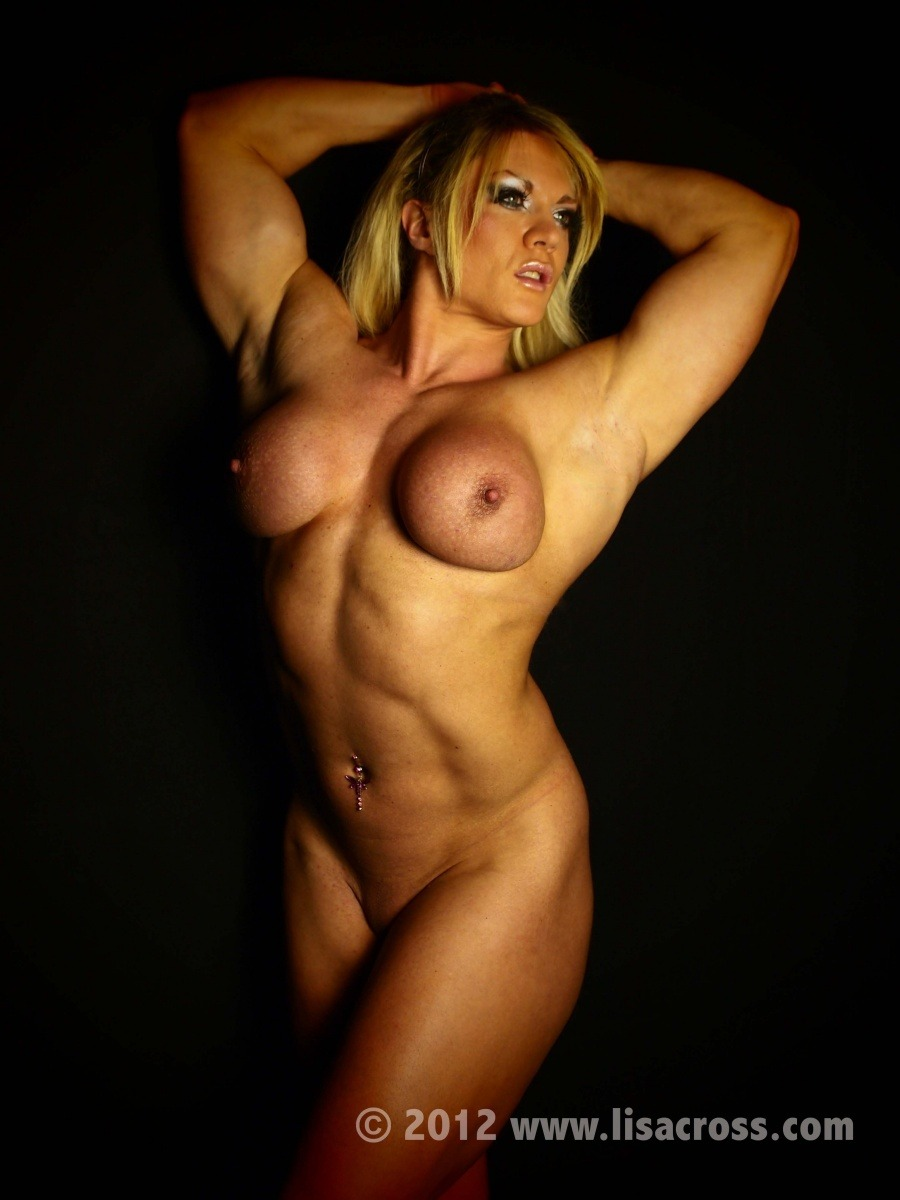 sexy topless muscle girl be