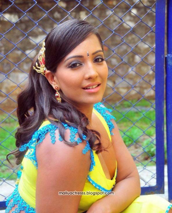 naidu cleavage Meghna