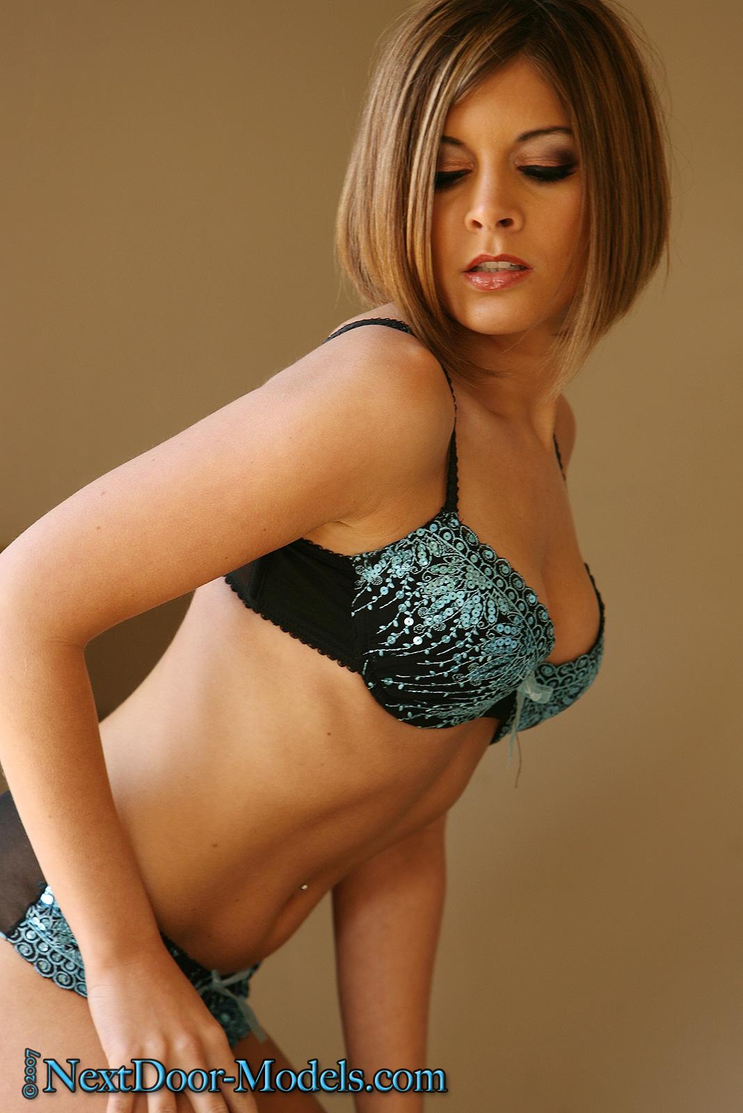 and door panties next bra Girl