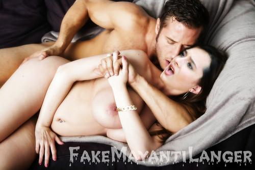 fake nude A j langer