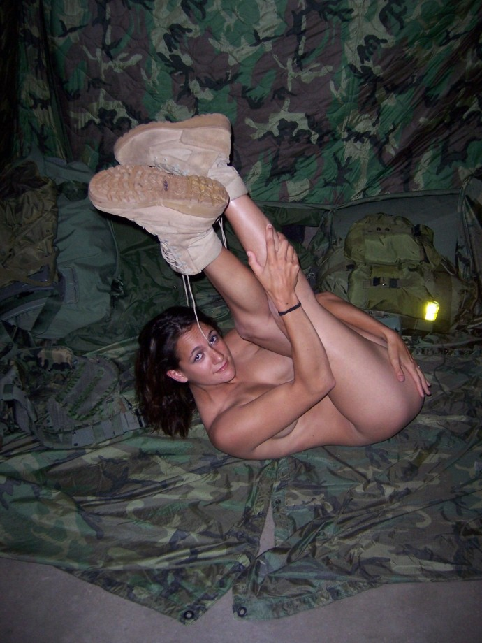girls caught naked Army