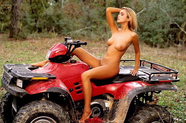 on atvs girls Naked