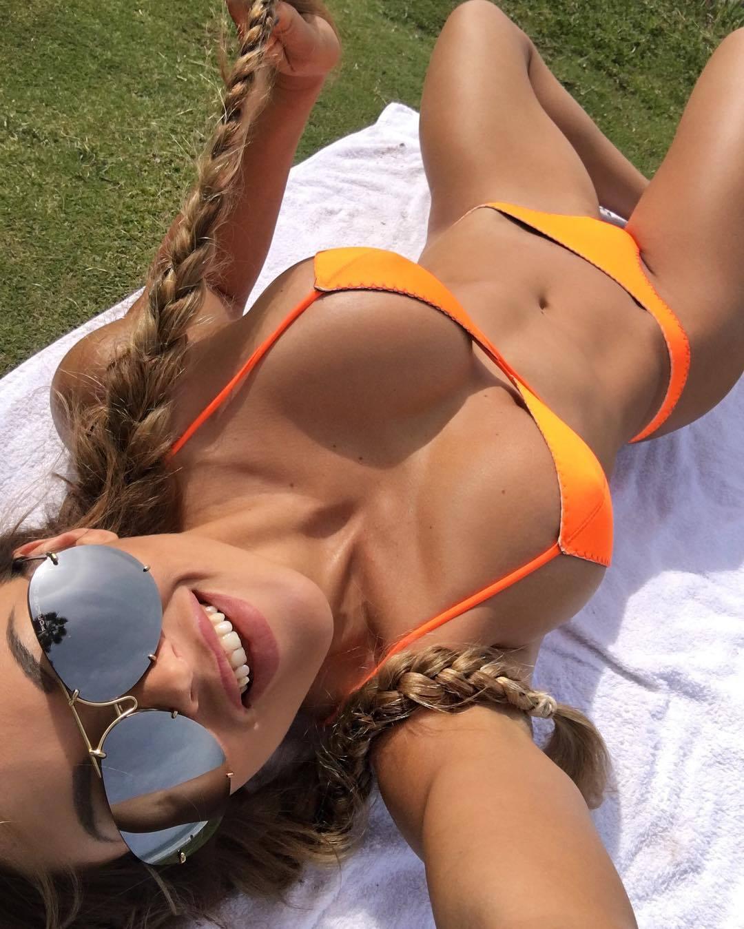 naked selfie boobs girl Busty
