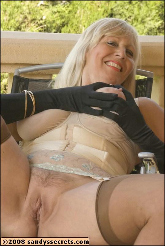 woman stocking mature Sexy