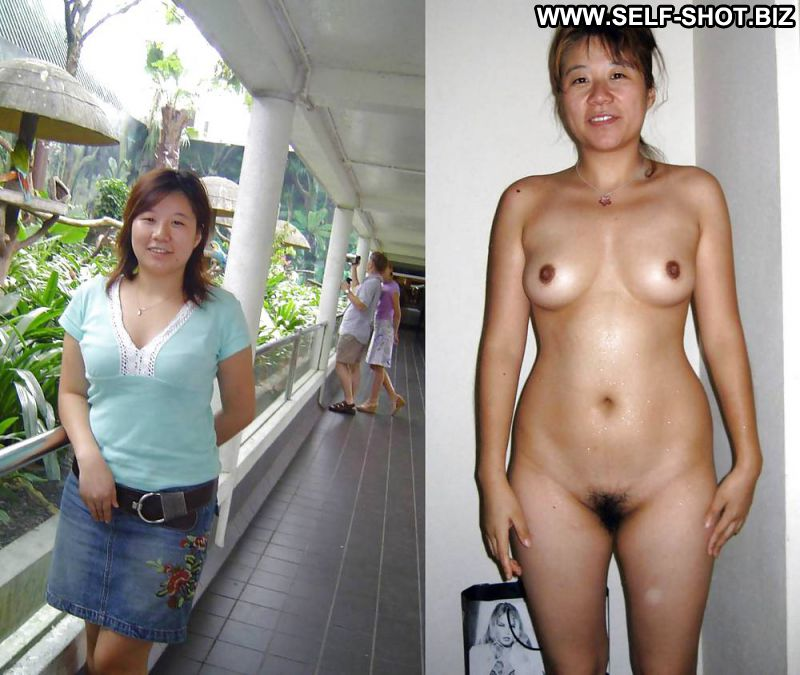 undressed Asian dressed