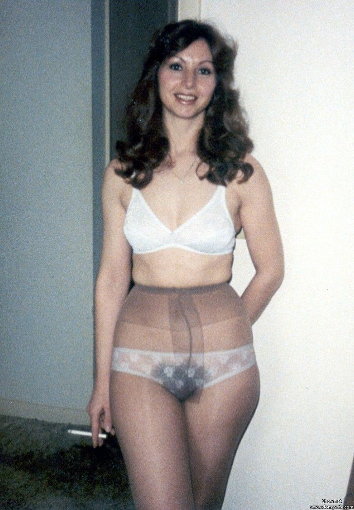 through Candid panty see