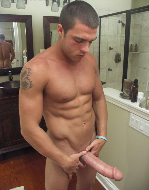 naked Big men dick black