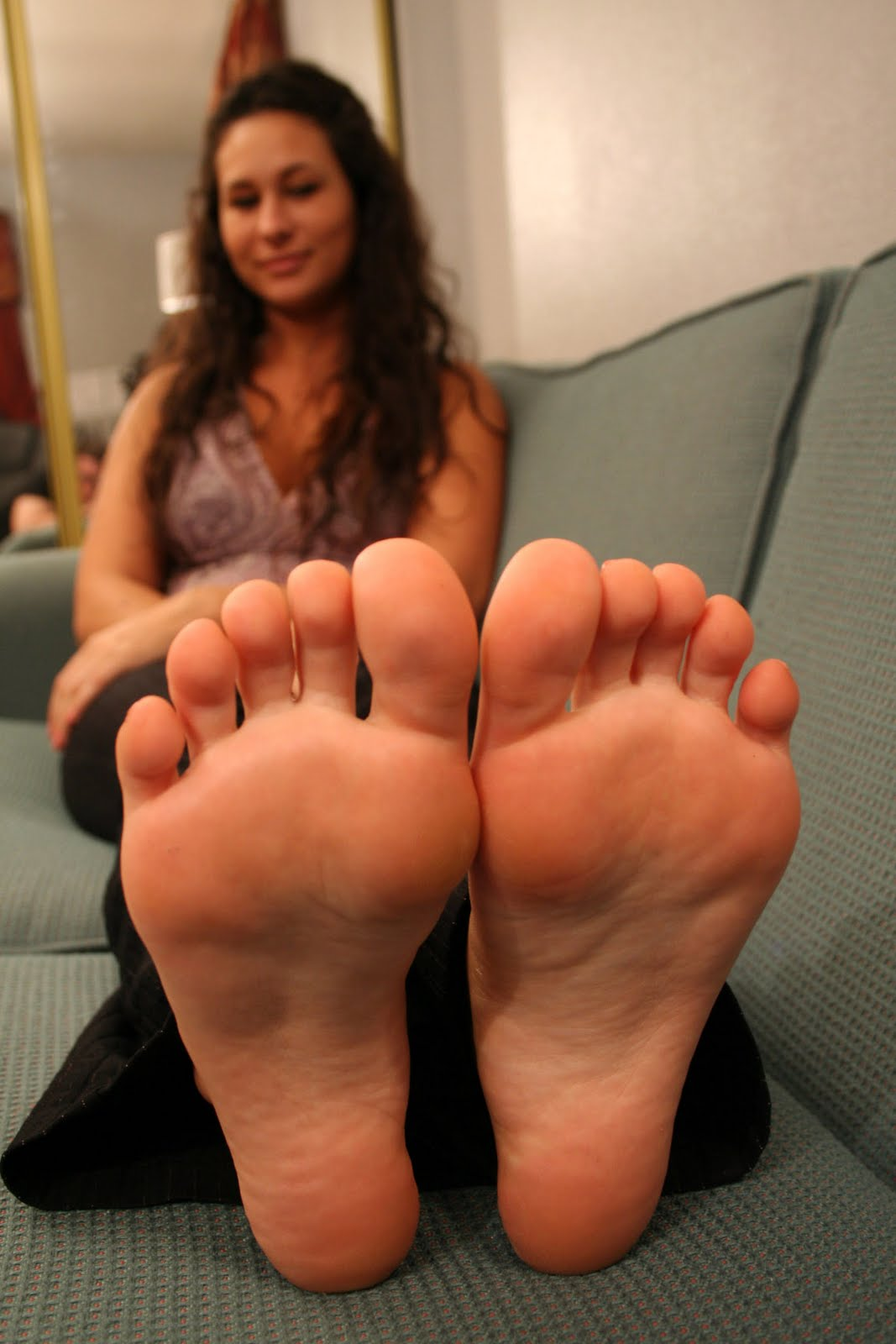Girls feet and soles
