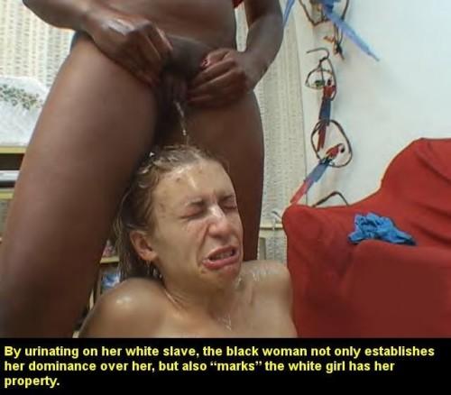 lesbian captions Black domination