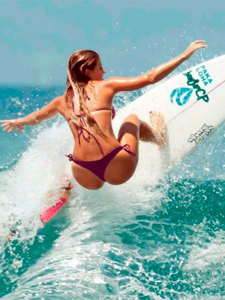 asses girl Teen surfer