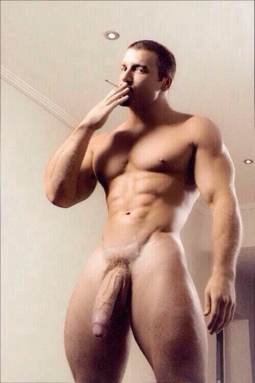 naked Brazilian muscle men