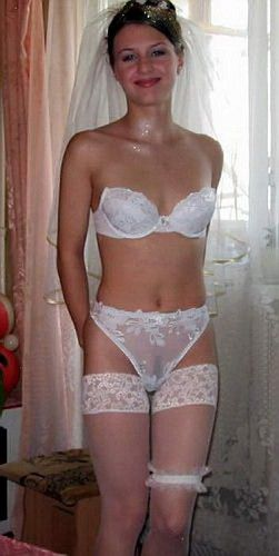 mature brides Naked