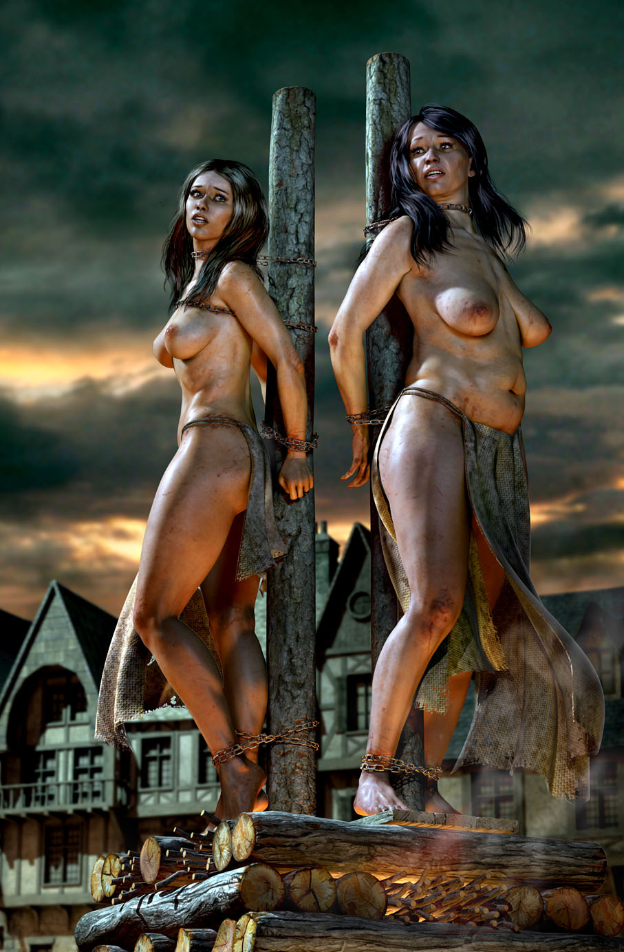 pirate Nude fantasy art