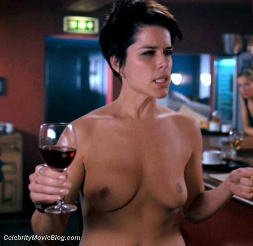 neve nude Topless campbell