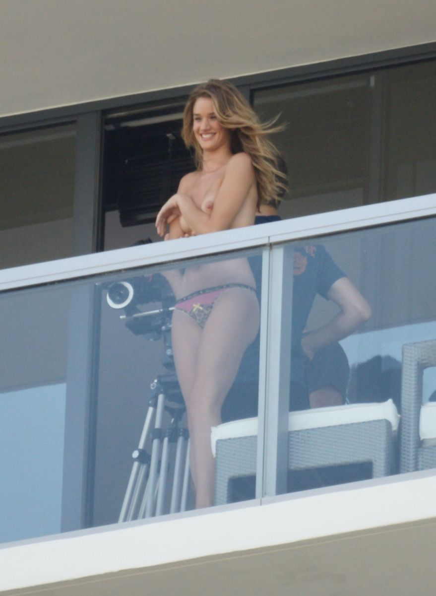 on balcony Sex