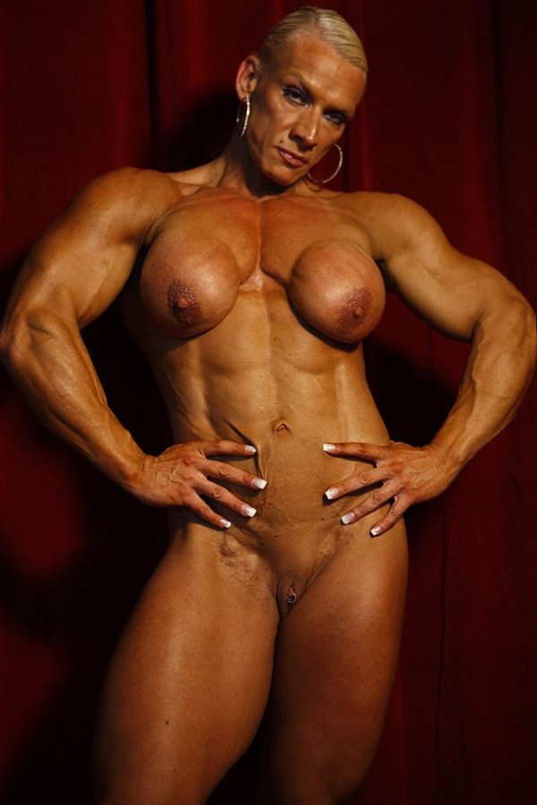bodybuilders Mature women