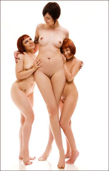 woman Tall nude blonde