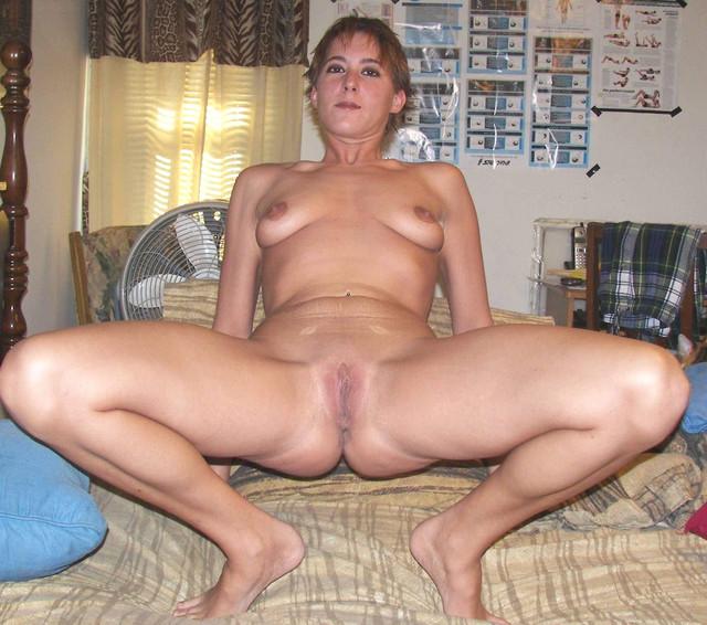 woman open spread Mature legs