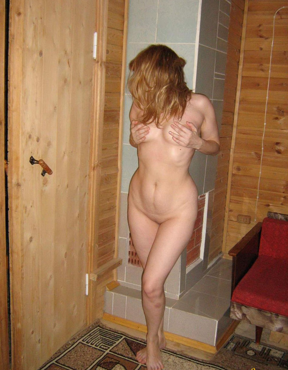 Shy wife pose nude