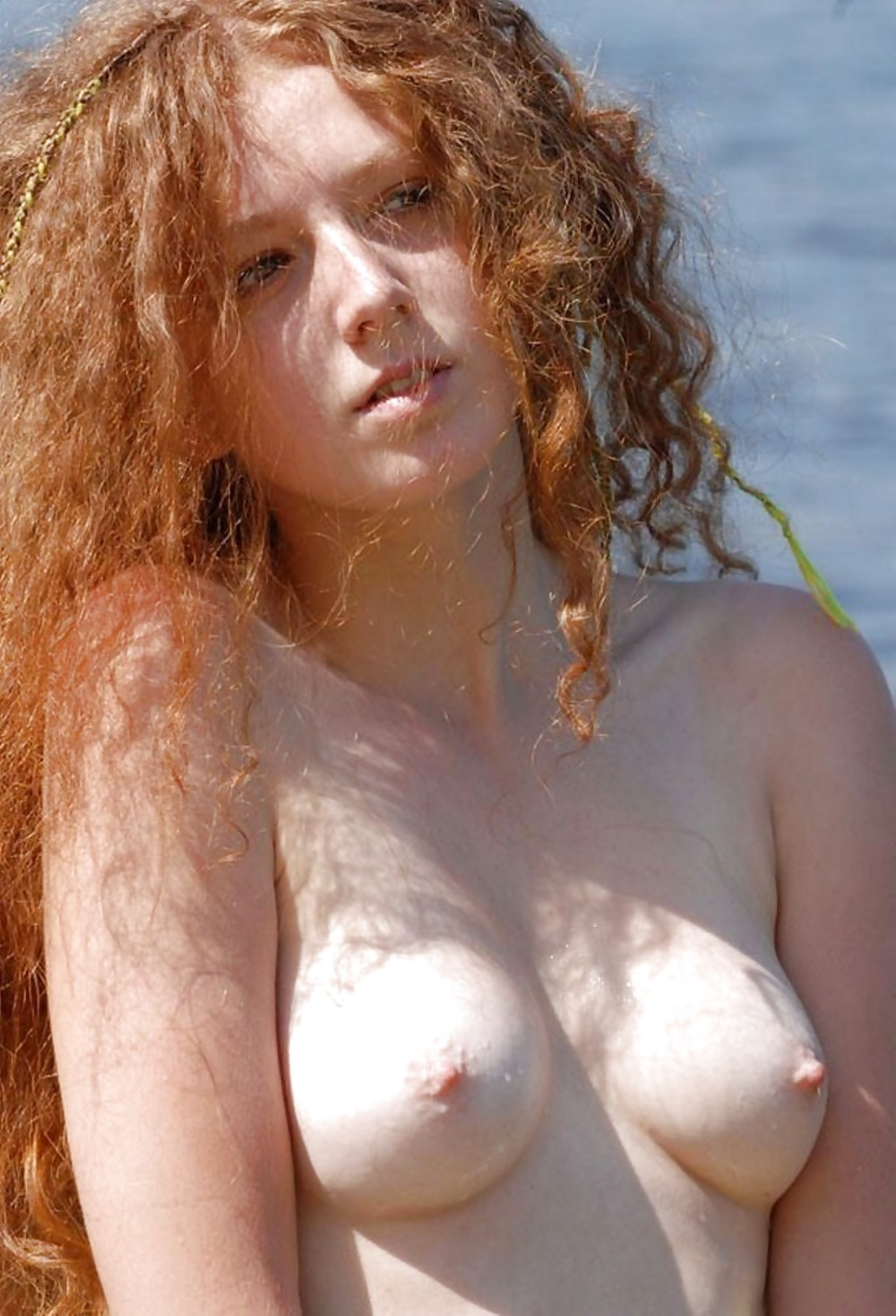 nude with freckles Sexy red heads