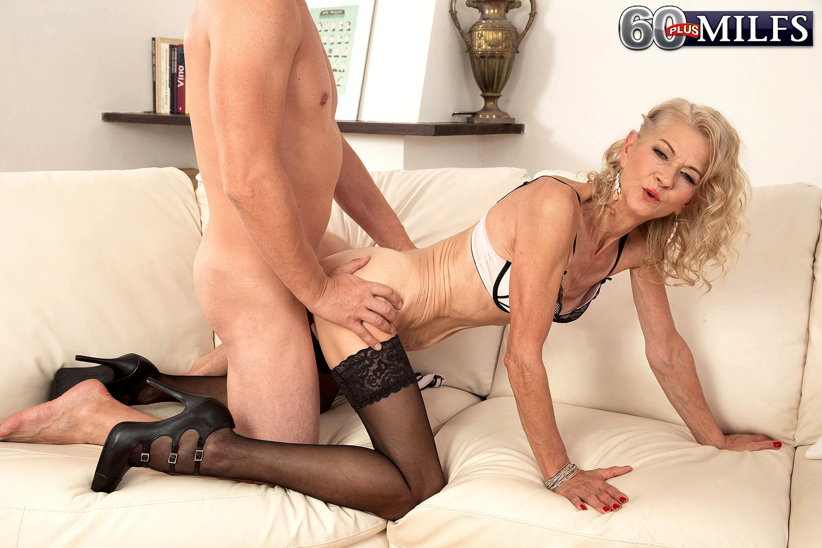 mature stockings plus 60