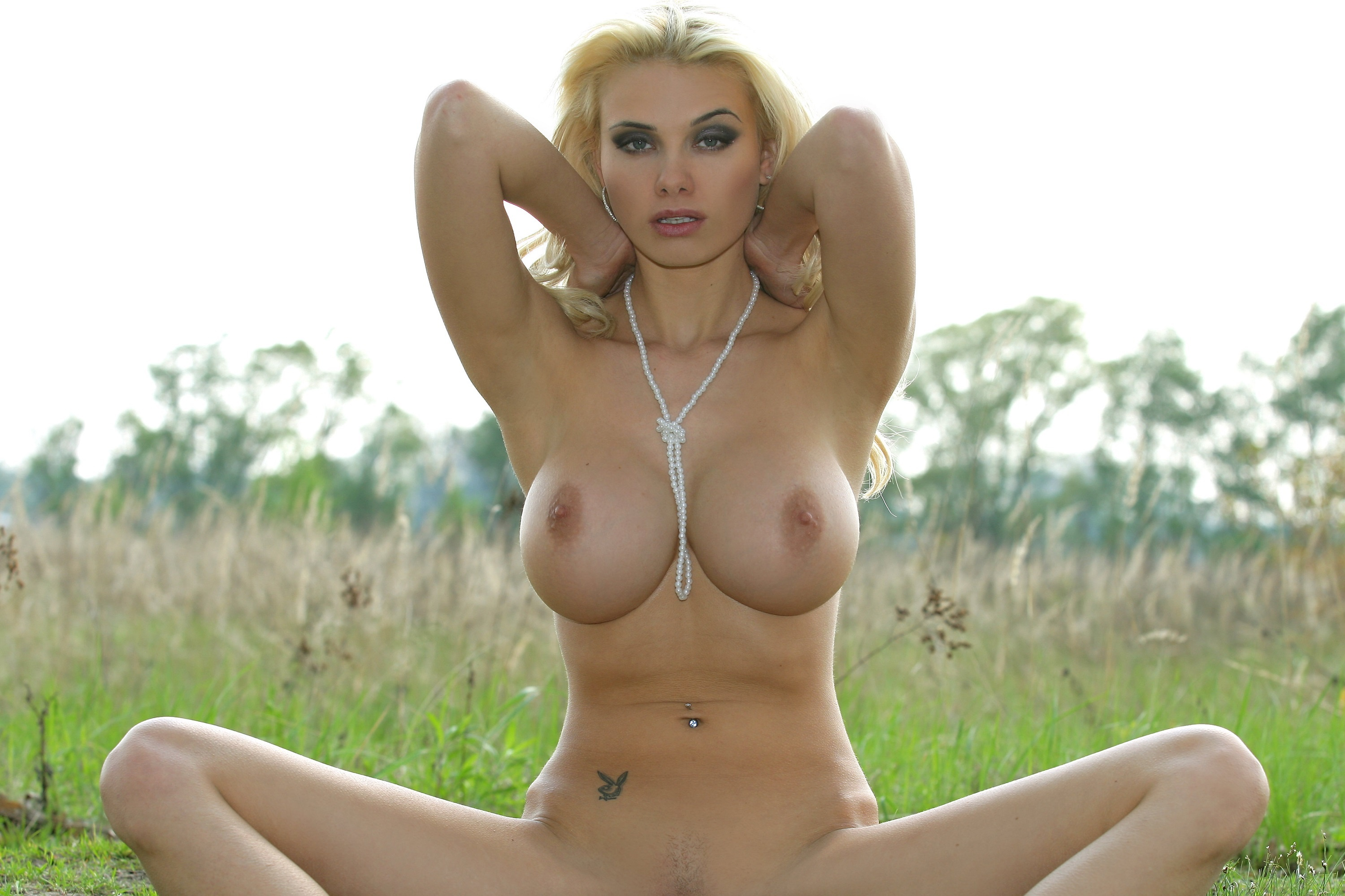 perfect tits with naked babe Beautiful