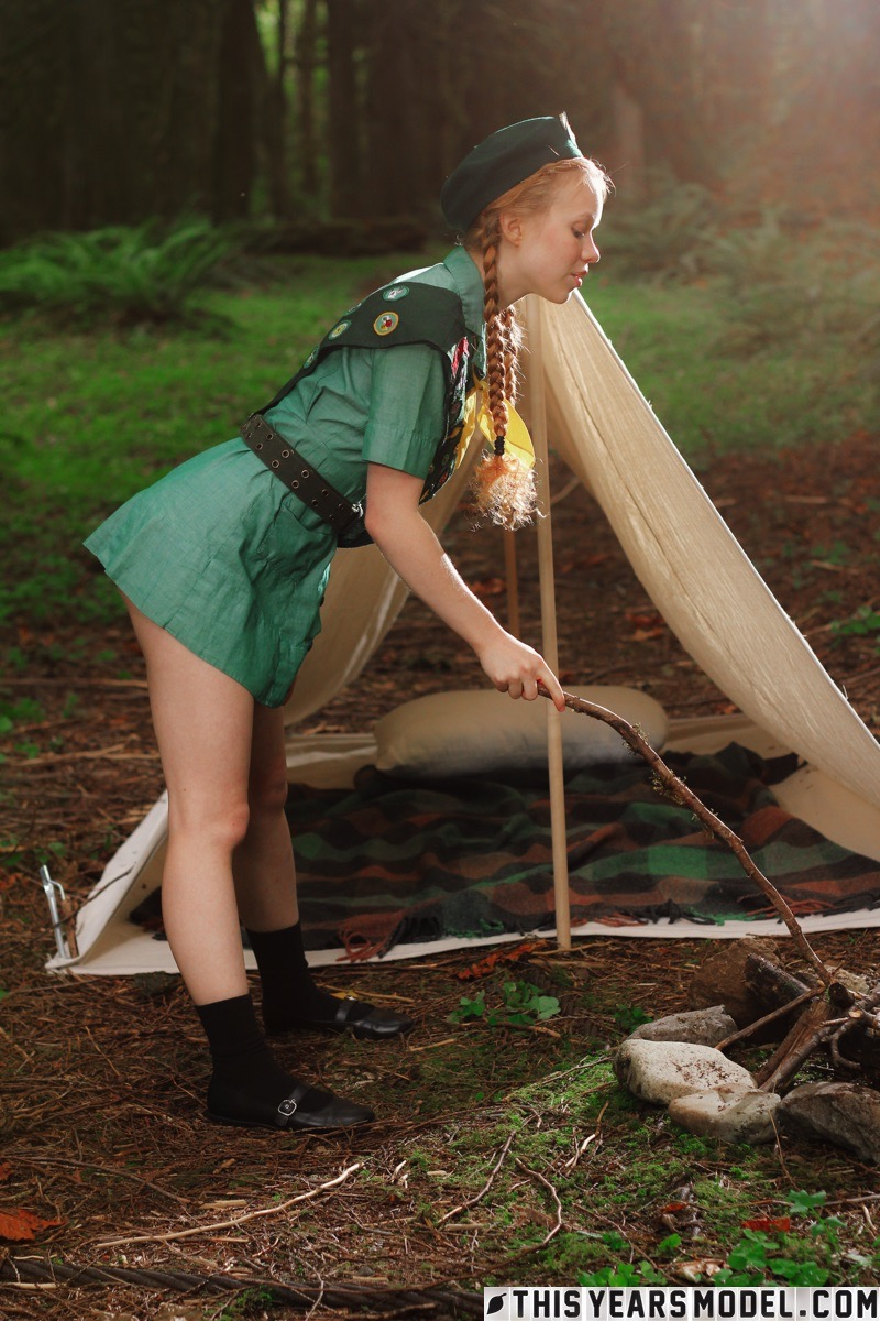 porn Girl scout camp