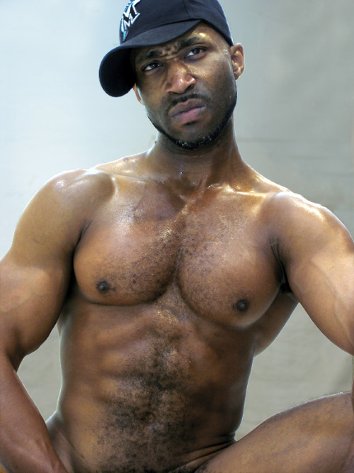 muscle tumblr Black men