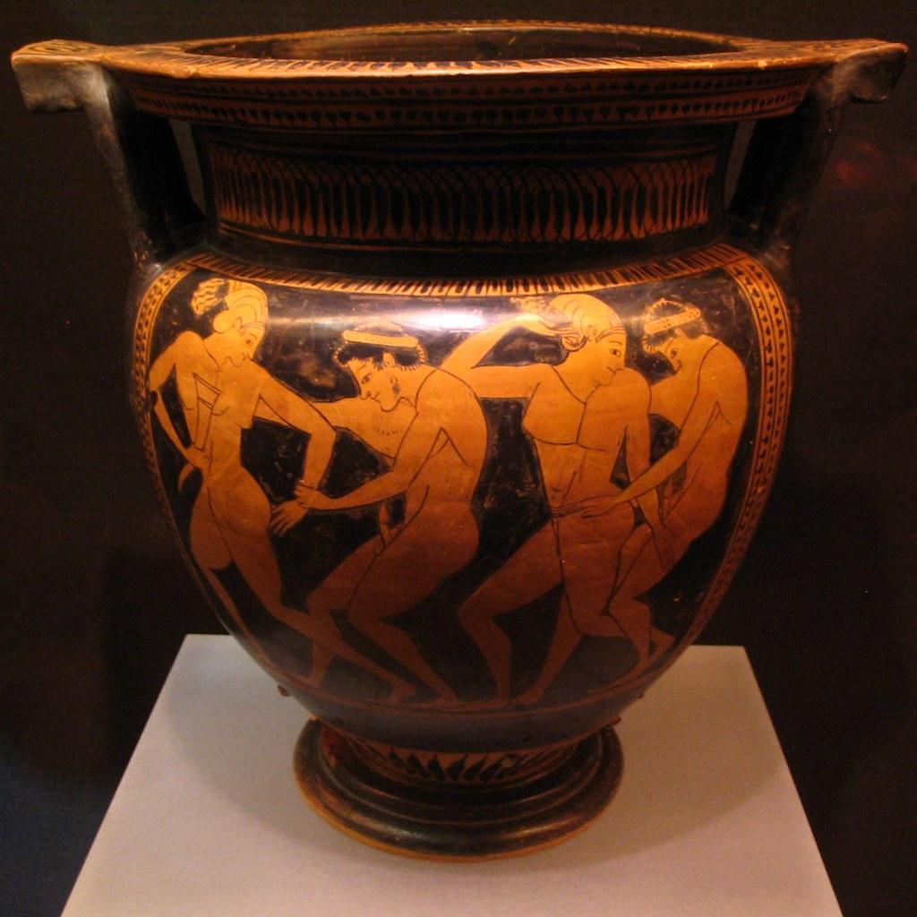 pottery greek Red figure