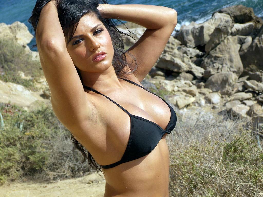 leone boobs Sunny hot sexy