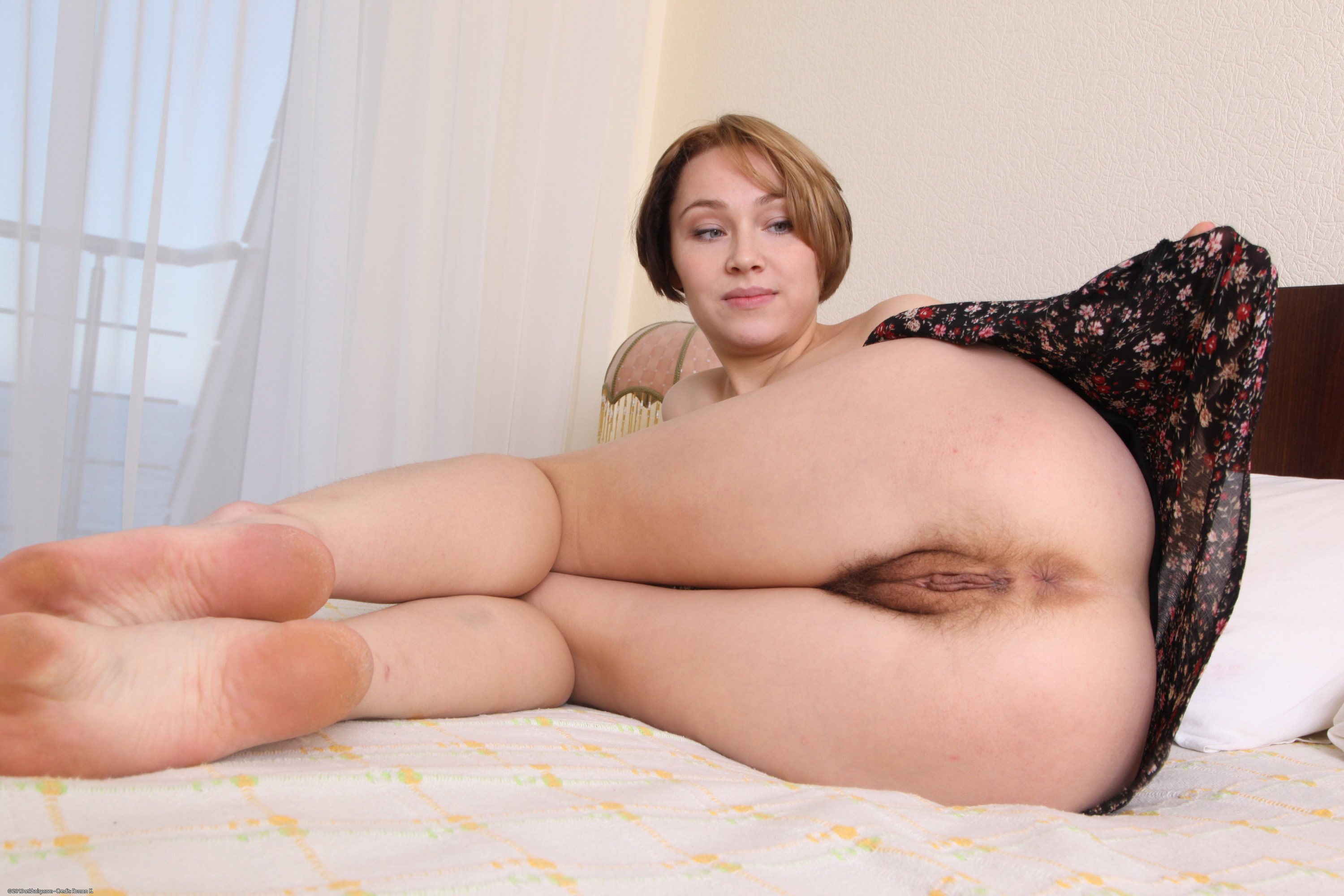 atk natural hairy Veronika from and