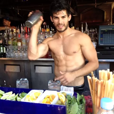 male bartenders naked Hot