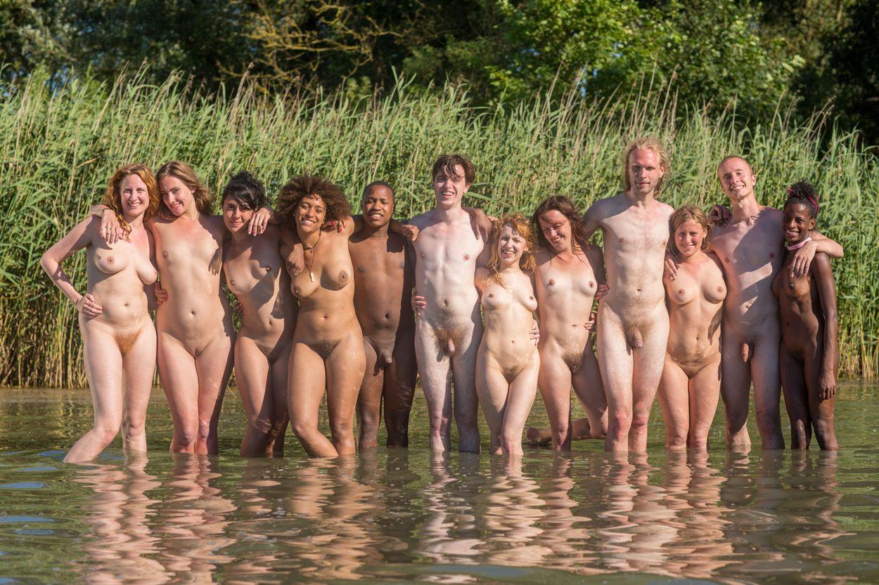 beach Abby winters girls nude