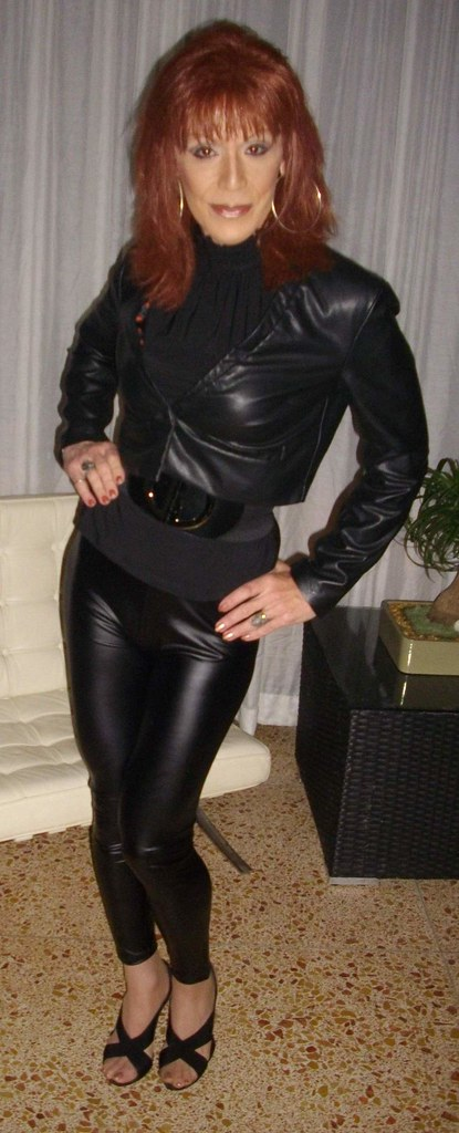 fetish Leather chaps mistress t