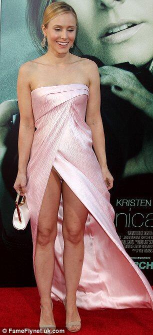 wardrobe Kristen malfunctions bell