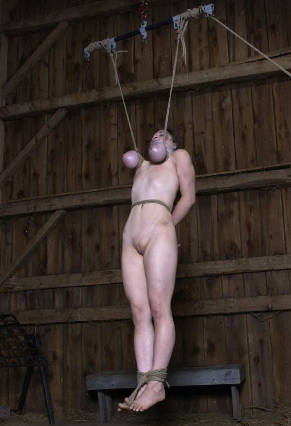 big tit suspension