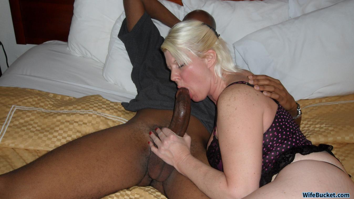 porn Wife cock bucket big