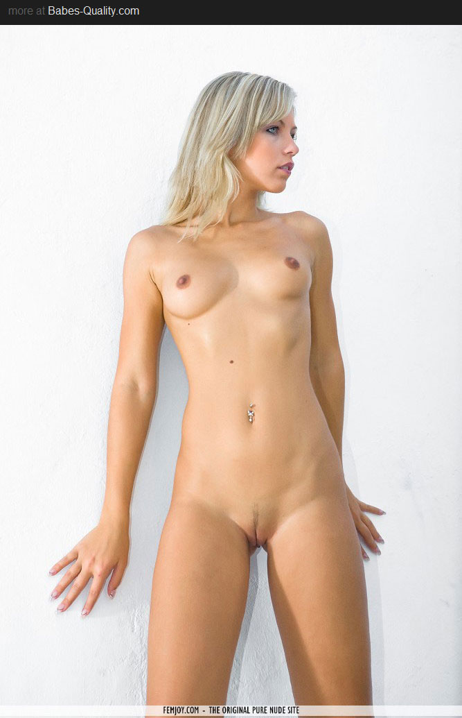 Naked blonde pussy beautiful