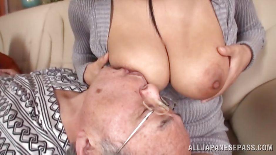 big tits Grandad