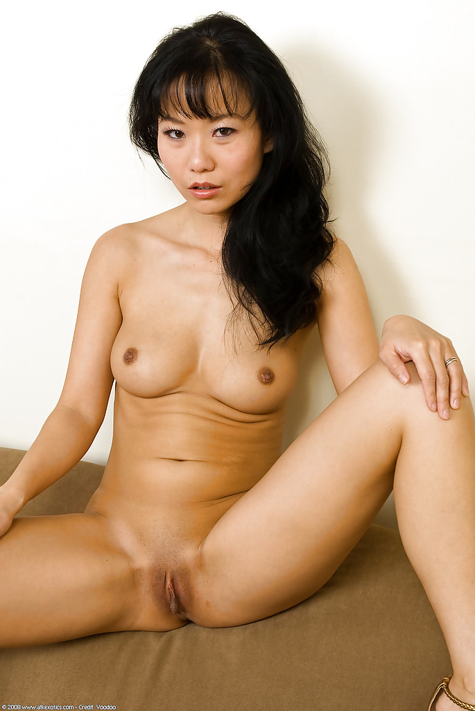 shaved pussy milf fucking Asian
