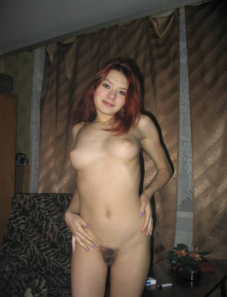 babe Very hairy pussy