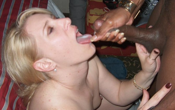 cum Amateur blonde wife