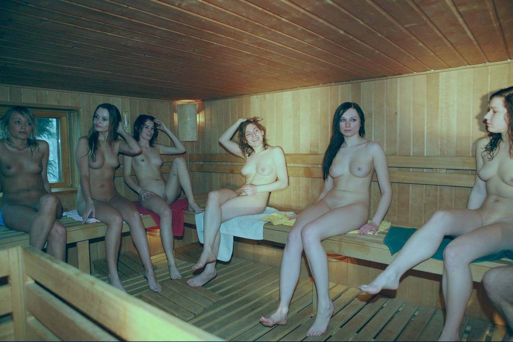 sauna women Swedish