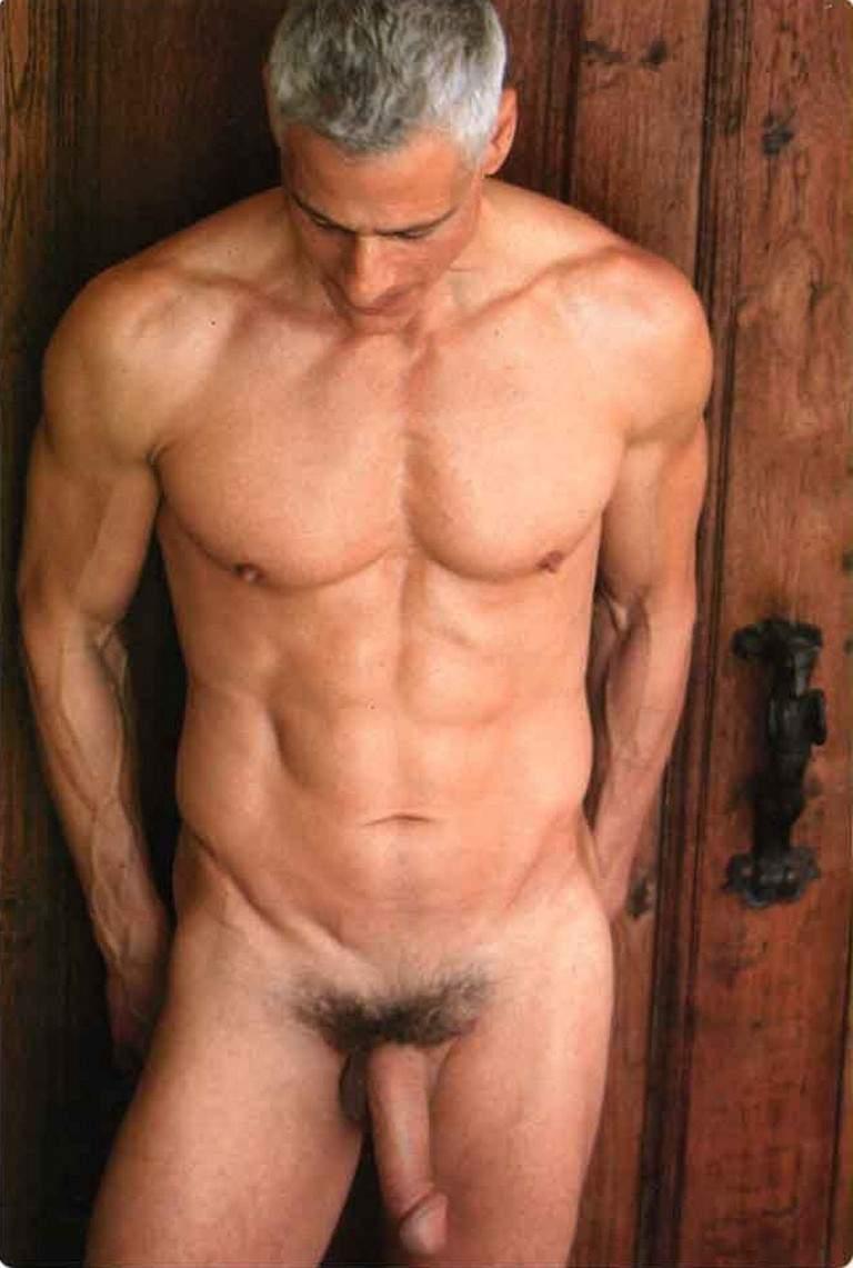hot old naked men
