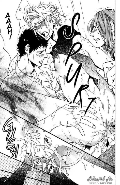 yaoi threesome Anime