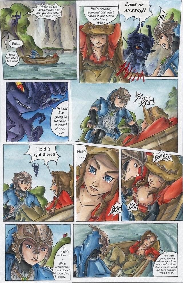 twilight hentai Zelda comic princess