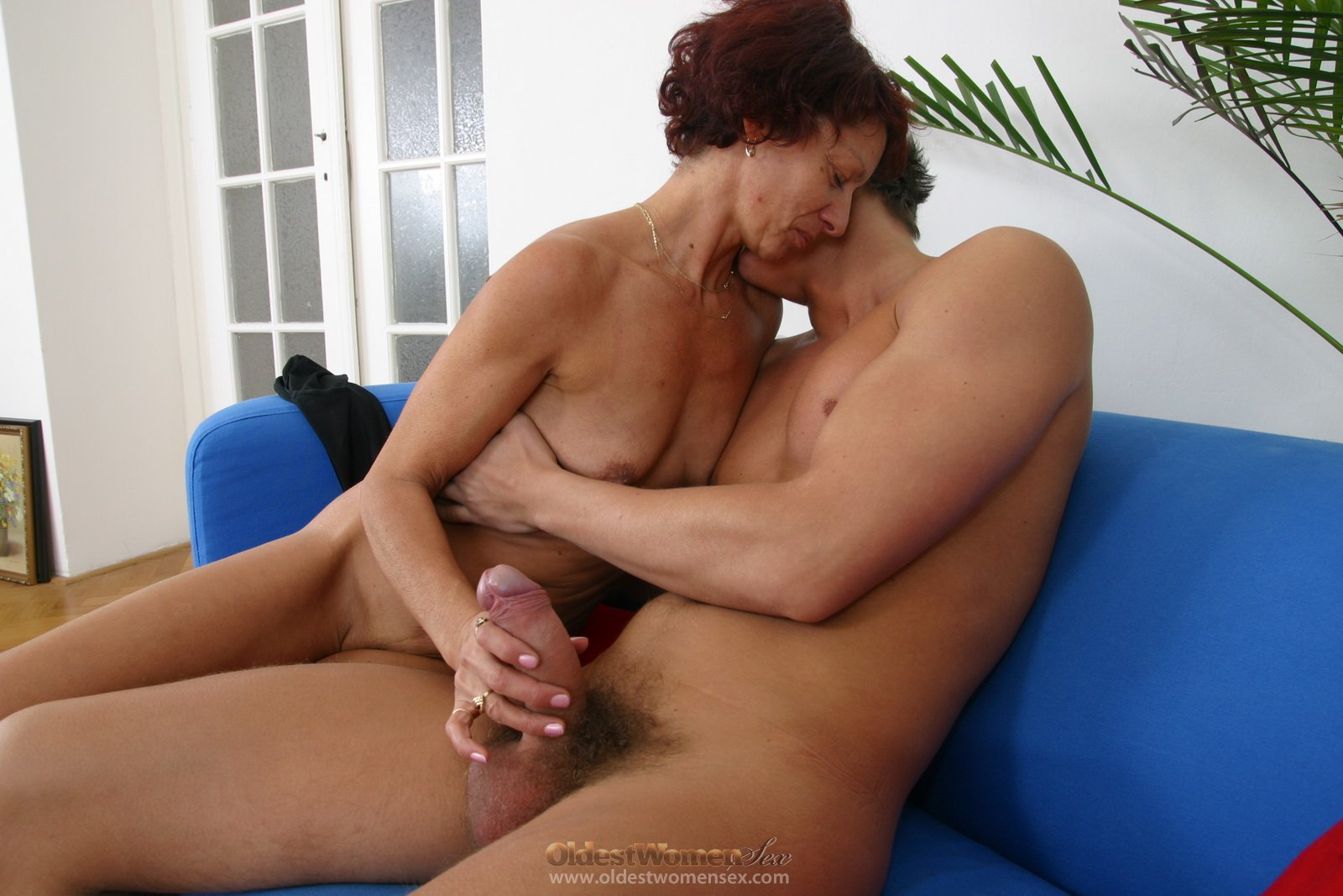 playing cock Granny with